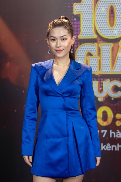 Diễn viên Ngọc Thanh Tâm là nghệ sĩ thứ hai tham gia ban bình luận của tập này.