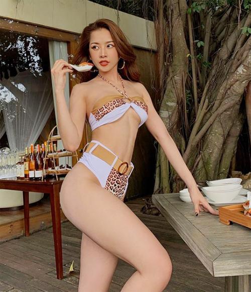 Chi Pu cũng chọn hình thức staycation khi chưa thể du lịch xa mùa dịch.