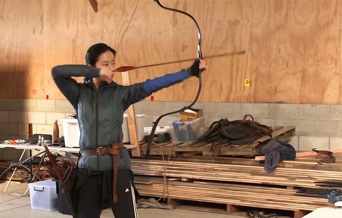 Trước khi phim bấm máy, Lưu Diệc Phi được sắp xếp một khóa huấn luyện võ thuật, bắn cung, đấu kiếm đầy khắc nghiệt.