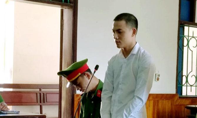 Bị cáo Biên tại tòa. Ảnh: Hùng Lê