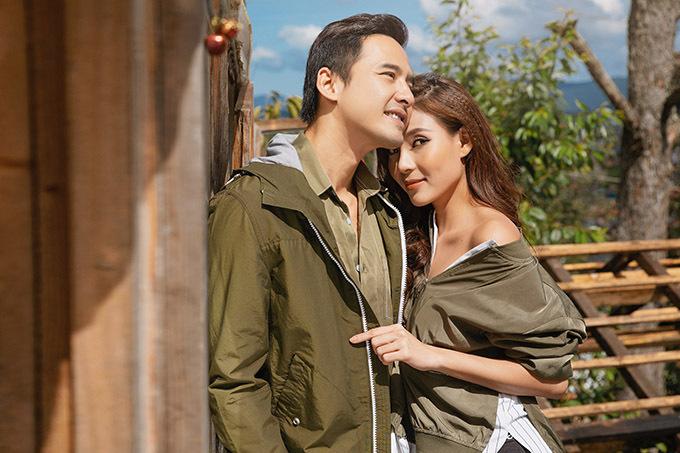 Vợ chồng Lương Thế Thành - Thúy Diễm.