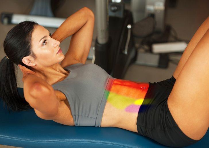 Vùng core khỏe giúp quá trình tập luyện thêm hiệu quả, hạn chế chấn thương.