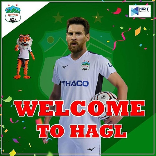 Viễn cảnh Lionel Messi về HAGL.