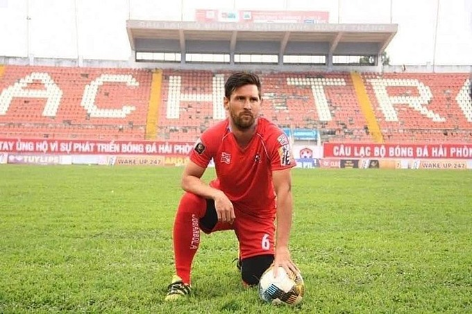 Fan Hải Phòng bày tỏ nguyện vọng được trực tiếp cổ vũ cho Messi trên sân nhà.