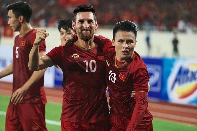 Người hâm mộ bóng đá Việt Nam cũng hy vọng Quang Hải sẽ được sát cánh bên tuyển thủ Argentina này.