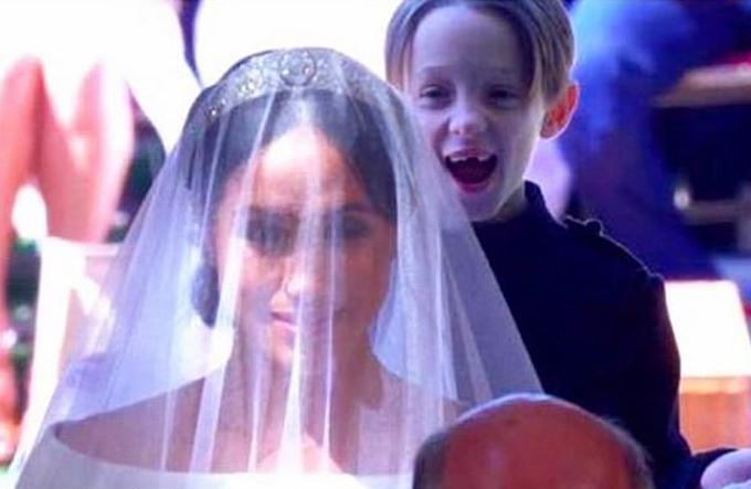 Bức ảnh con trai Brian ở đám cưới Meghan 2 năm trước đã bị Jessica xóa khỏi tài khoản cá nhân. Ảnh: Instagram.