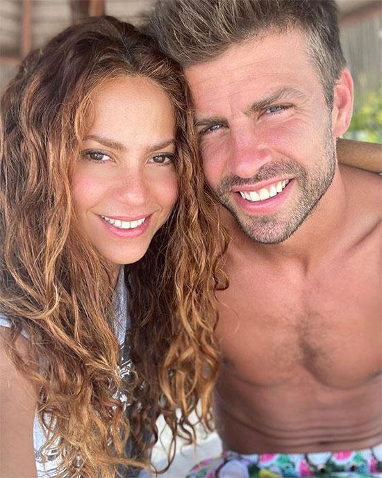Ảnh Pique và Shakira chung đôi gây chú ý vì suốt một năm nay cả hai người đều không đăng ảnh bên nhau khiến tin đồn tình yêu rạn nứt rộ lên.