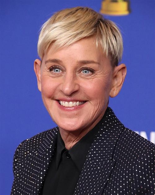 Nữ MC Ellen DeGeneres bỏ túi 84 triệu USD nhờ vai trò dẫn dắt chương trình truyền hình ăn khách Ellen DeGeneres show.