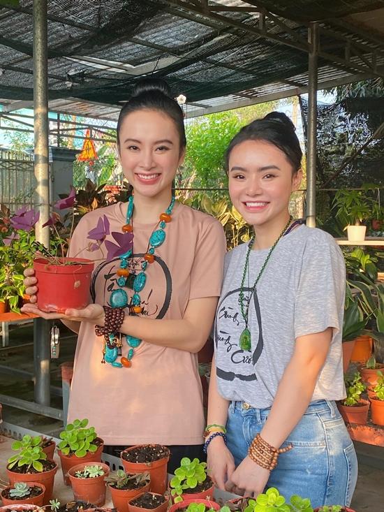 Cả em gái Phương Trinh cũng theo đuổi Phật pháp giống chị. Ngoài ra, hai chị em đều phát nguyện ăn chay trường trọn đời từ đầu năm 2020.