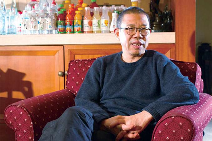 Tỷ phú Zhong Shanshan, chủ tịch hãng đồ uống Nongfu Spring. Ảnh: China daily.