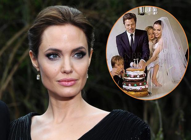 Jolie buồn khi Brad đưa người yêu về ngôi nhà nơi họ từng tổ chức lễ cưới 6 năm trước.