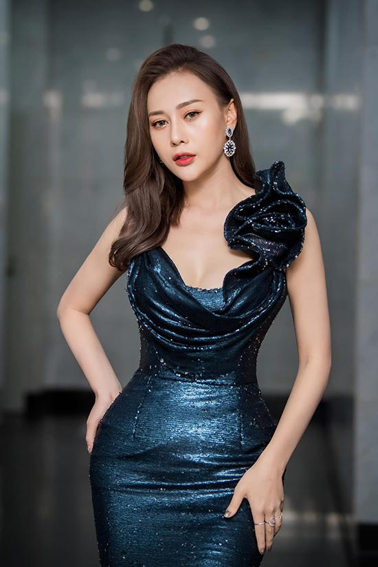 Phương Oanh tại Lễ trao giải VTV Awards 2020 diễn ra tối 5/9.