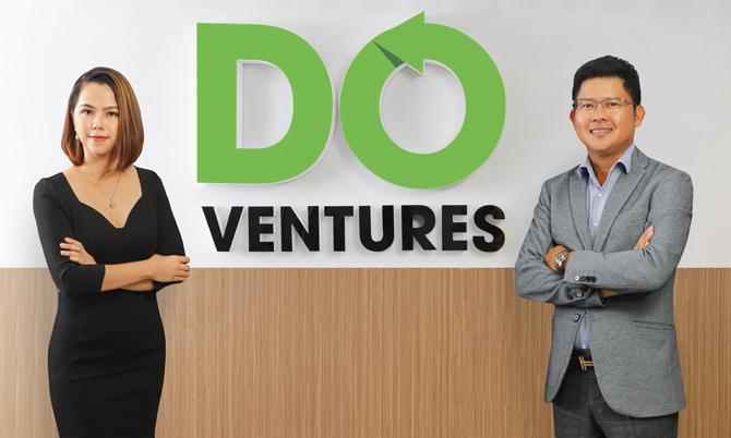 Hai nhà đồng sáng lập Do Ventures: Shark Dzung và Lê Hoàng Uyên Vy.