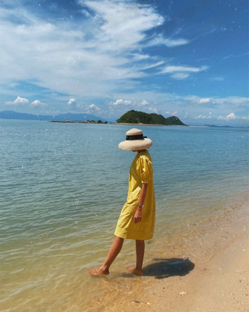Hòn đảo hoang sơ nơi gia đình Hà Tăng check in chóng vánh - 2