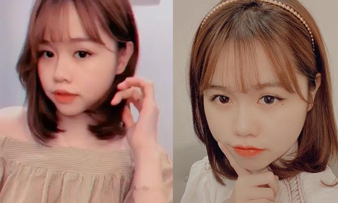Bạn gái Quang Hải khoe tóc mới