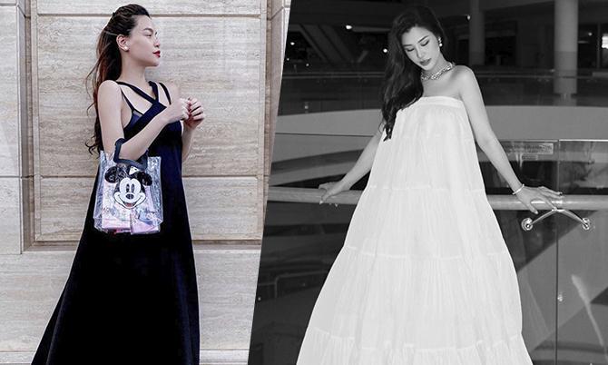 Hồ Ngọc Hà, Đông Nhi 'đụng' style váy bầu