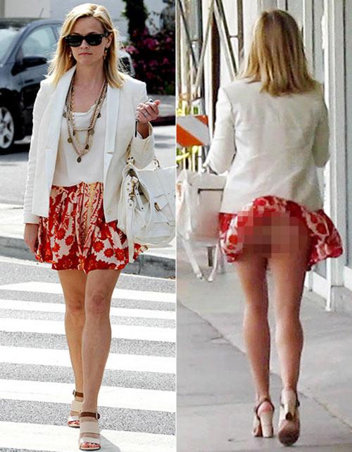 Sao gặp sự cố vì váy ngắn, xẻ cao - 5