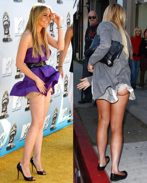 Sao gặp sự cố vì váy ngắn, xẻ cao - 6