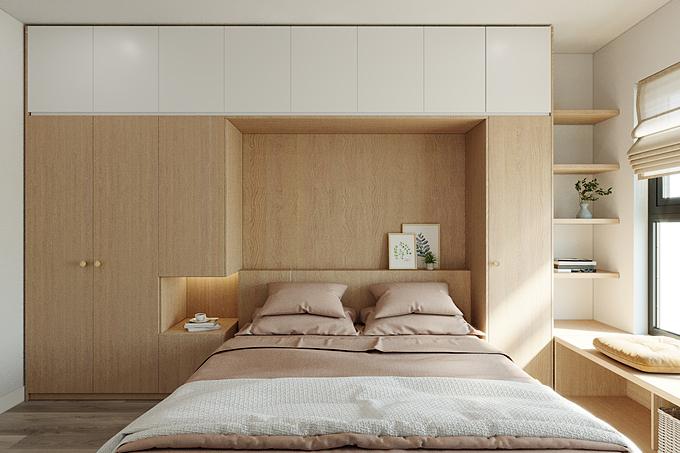 Tư vấn thiết kế nội thất phòng ngủ nhỏ hẹp