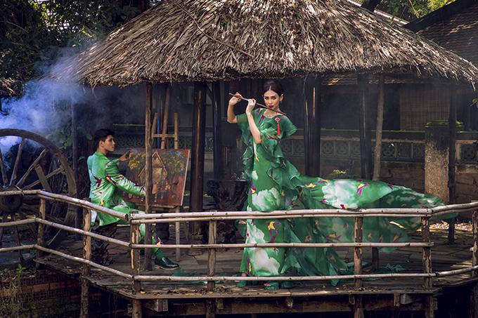 Váy đi tiệc dành cho phái đẹp được khai thác trên các chất liệu organza, lụa, taffeta cao cấp để tông nét sang trọng và nữ tính cho người mặc.
