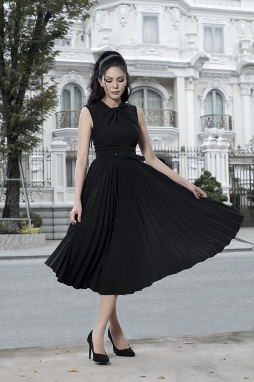 Váy hai trong một cho nàng công sở - 12