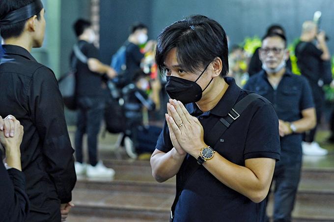 Ca sĩ Tấn Minh.