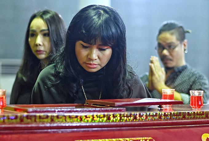 Thanh Lam nhớ mãi những lần gặp nhạc sĩ Phó Đức Phương trong bệnh viện. Dù mắc bệnh hiểm nghèo, ông luôn lạc quan và truyền năng lượng tích cực đến mọi người. Nữ ca sĩ rất vui vì nhạc sĩ hài lòng với phần thể hiện của cô trong liveshow Khúc hát phiêu ly.