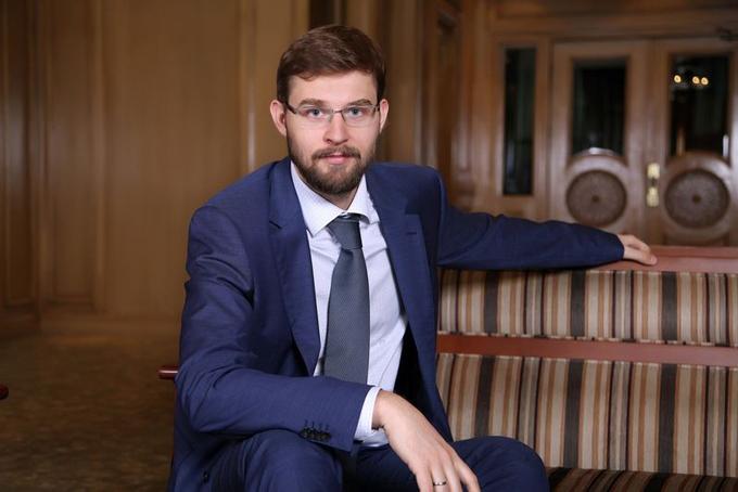 Timur Turlov, chủ tịch kiêm CEO của Freedom Holding Corp. Ảnh: Freedom.