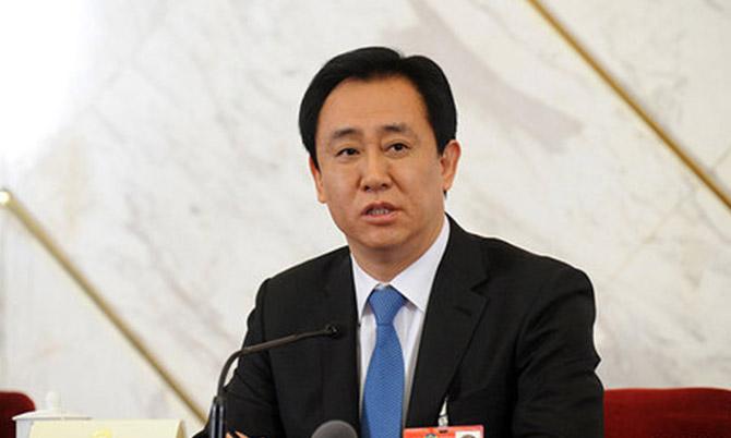 Tỷ phú Hui Ka Yan - Chủ tịch và cổ đông lớn nhất của Evergrande. Ảnh: China news.