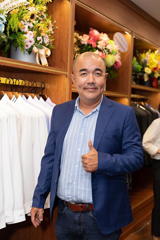 Diễn viên Quốc Thuận.