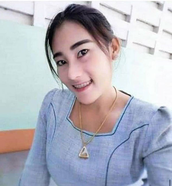 Chân dung Ornuma - cô giáo đánh trẻ ở tỉnh Nonthaburi, miền trung Thái Lan. Ảnh: FB.