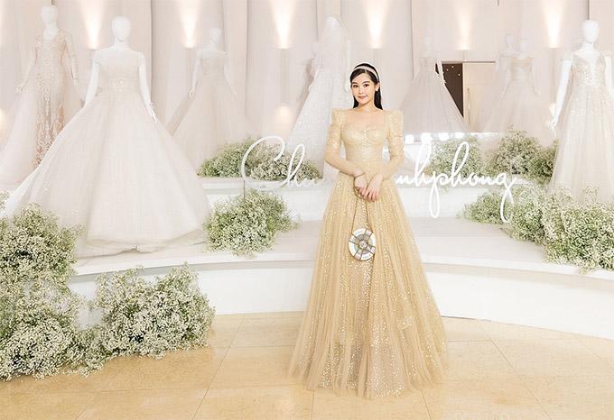 Ngân Anh là khách mời trong show thời trang My Princess tổ chức tại TP HCM. Cô không còn hoạt động nghệ thuật nhưng vẫn theo dõi và thường xuyên tham dự các sự kiện của làng giải trí.