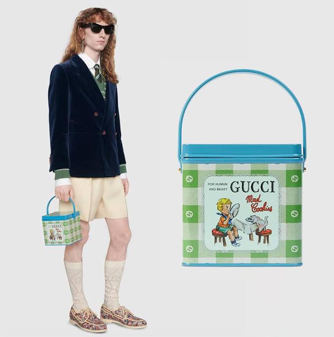 Đầm cho đàn ông và hộp cơm nhựa giá nghìn đô của Gucci - 2