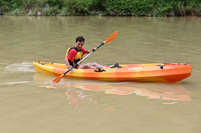 Đi thuyền sông Nho Quế - 8
