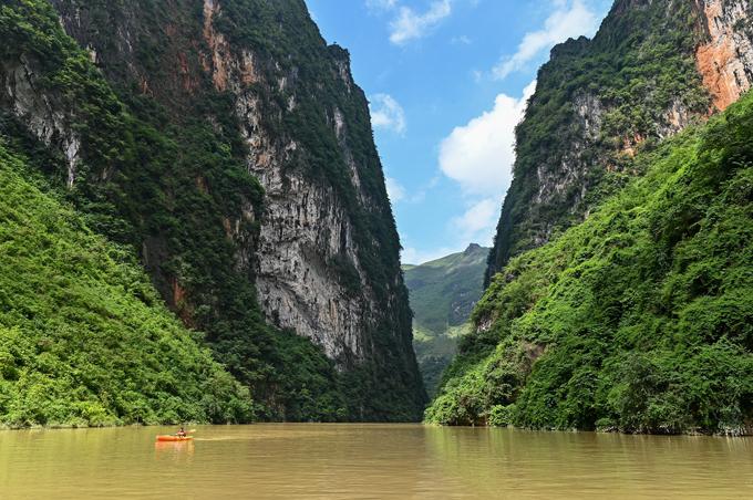 Đi thuyền sông Nho Quế - 10