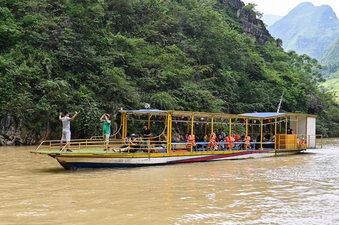 Đi thuyền sông Nho Quế - 14