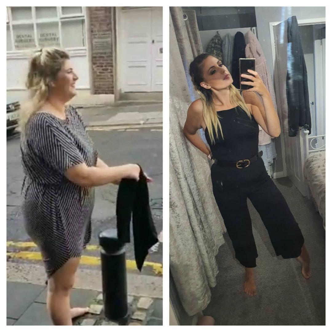 10 tháng giảm 45 kg khiến nhiều người ngỡ ngàng khi gặp Dannie.