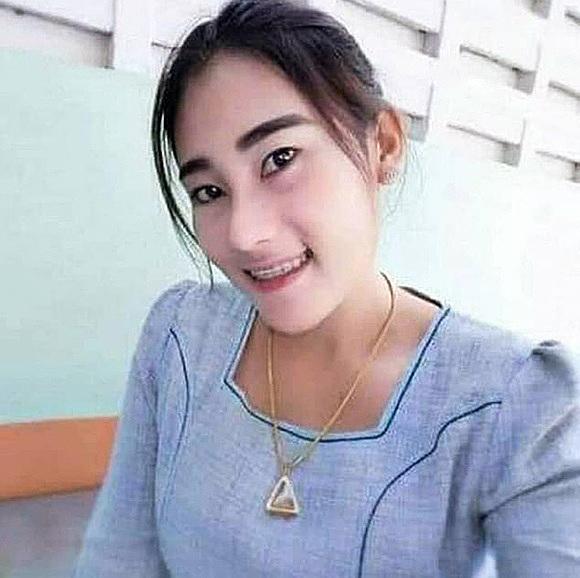 Cô giáo Ornuma Plodprong, người bị phụ huynh đánh vì bạo hành học sinh. Ảnh: Viral Press.