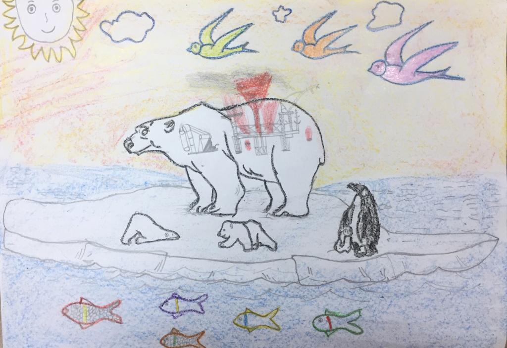 Động vật qua nét vẽ của bé - 16