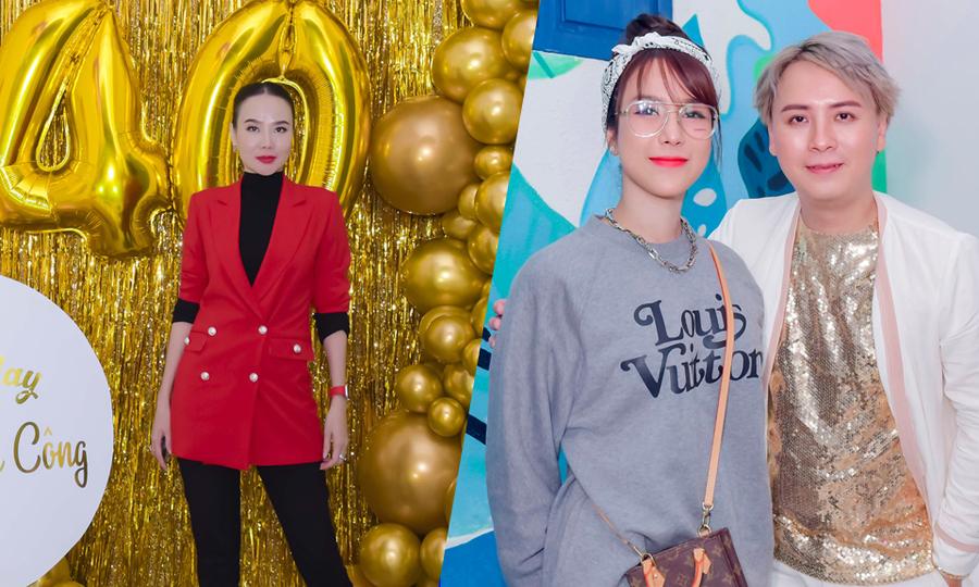 Dàn người đẹp dự sinh nhật Văn Thành Công