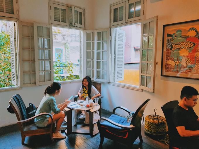 Quán cà phê tìm về Hà Nội xưa cũ - 2