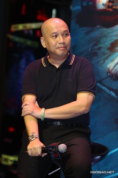 Nhạc sĩ - đạo diễn Quang Huy làm sản xuất cho phim Trái tim quái vật.