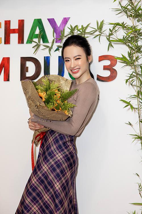Angela Phương Trinh chia sẻ, nhờ tình cảm, sư yêu thương của mọi người dành cho tiệm chay nhỏ mà cô cùng các thành viên trong gia đình có thêm nhiều động lực để phát triển mô hình kinh doanh của quán.