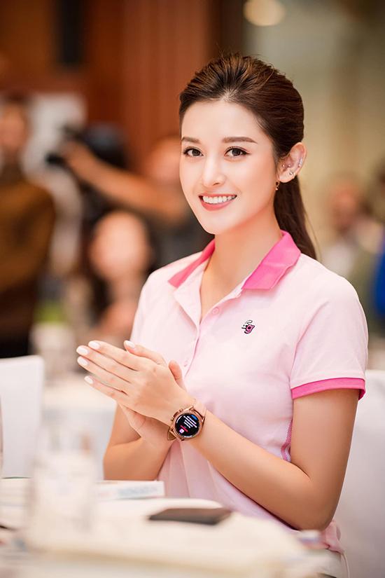 Huyền My chưa tự tin hoàn toàn vào khả năng chơi golf của mình nhưng vẫn đăng ký tham gia giải này vì ý nghĩa nhân văn và mục đích làm từ thiện.