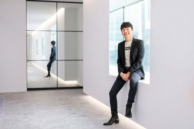 Masatoshi Kumagai, người sáng lập, chủ tịch kiêm CEO Tập đoàn GMO Internet. Ảnh: Bloomberg.