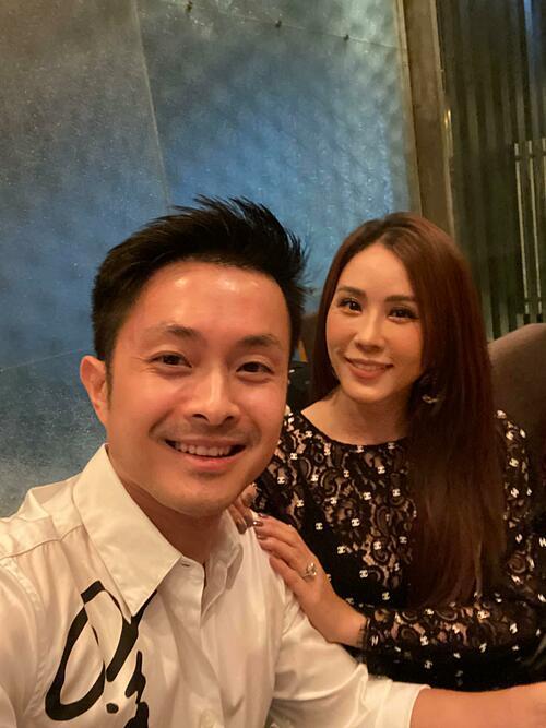 Chúc người đàn ông của tôi thêm một tuổi mới. Happy birthday anh yêu, hoa hậu Thu Hoài nhắn nhủ bạn trai trong ngày sinh nhật.