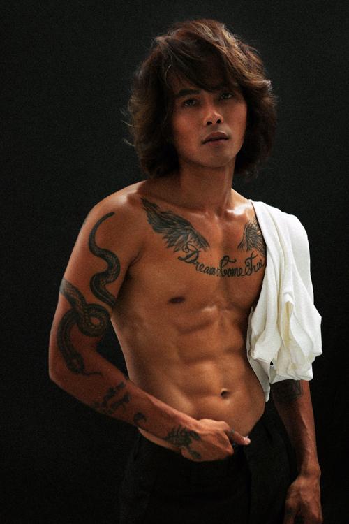 Diễn viên Hữu Thanh Tùng.