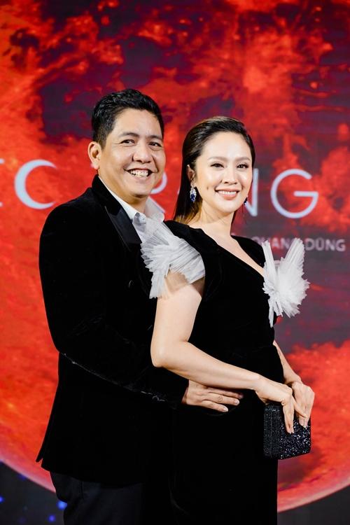 Diễn viên - nhà sản xuất Thanh Thúy luôn cổ vũ ông xã Đức Thịnh trở lại diễn xuất.
