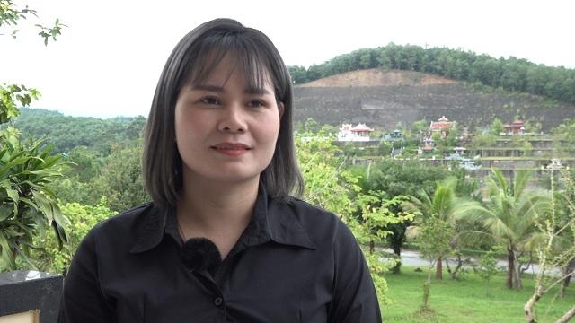 Chị Đinh Thị Phương Loan.
