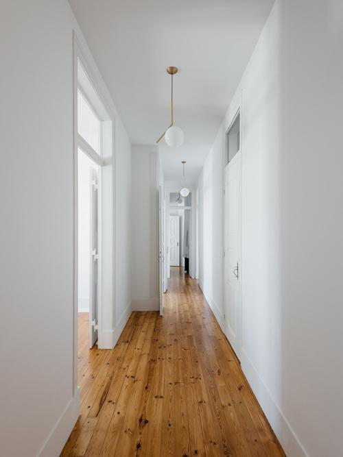 Hành lang của căn hộ.